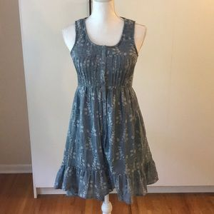 Urban outfitters Alya high low chambray dress Sz s